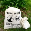 2 lbs. of Plant Saver Deer & Rabbit Repellent with 10 refillable bags