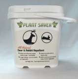 10 lb. tub of Plant Saver Deer & Rabbit Repellent with 50 refillable bags